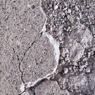 Cracks in Concrete