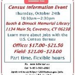 Census Site Flyer
