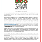 Wreaths Across America Communication 2020