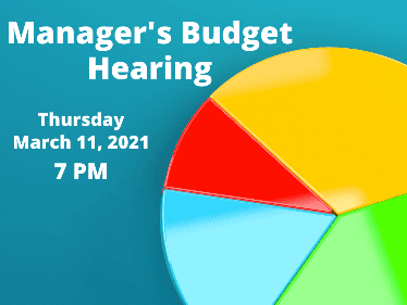 Manager Budget Hearing